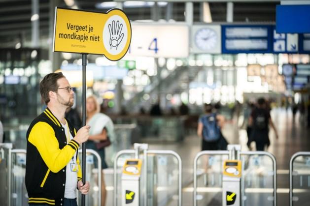 Check-ins openbaar vervoer namen tot 90 procent af