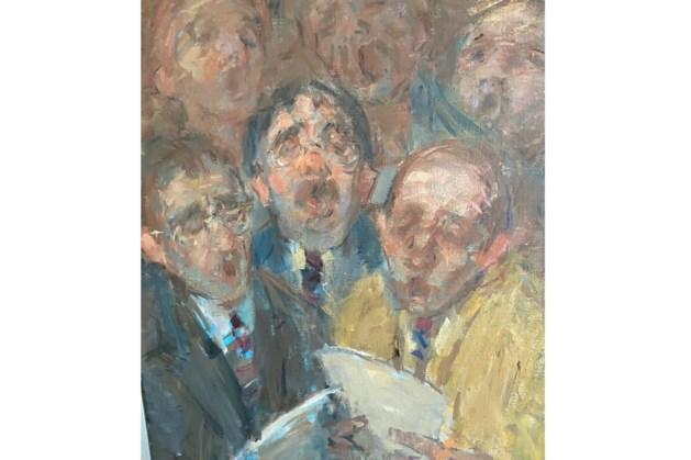 Kunstverkoop Leudal: 200 schilderijen verkocht, totale opbrengst vijfduizend euro