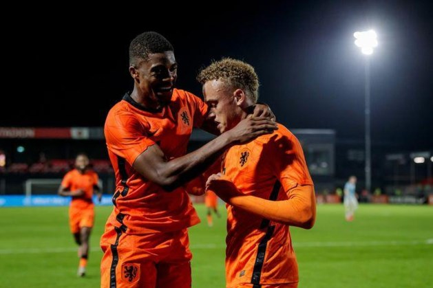 Jong Oranje wint ook zesde duel en is dicht bij EK