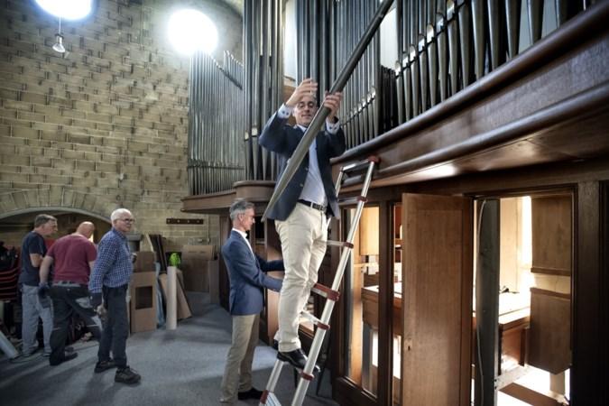 Landgraafs orgel gaat als gigantisch bouwpakket naar Polen: 'Drie tot vier weken nodig om het weer in elkaar te zetten'