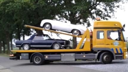 Politie treft tiental gestolen auto's aan in loods Roggel