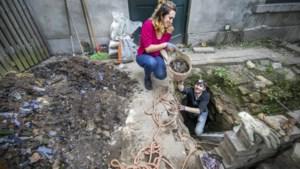 Roermonds stel vindt 'glasschat' in achtertuin