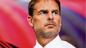 'Vereerde' Frank de Boer niet benaderd voor bondscoachschap