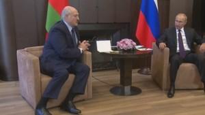 Vladimir Poetin geeft lening van 1,5 miljard dollar aan president Wit-Rusland
