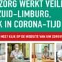 Eén coronacampagne in Zuid-Limburg: de zorg gaat door