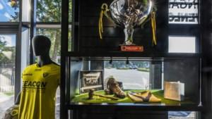 De hattrickbal van 'Giako' ligt (nog) niet in het VVV-museum