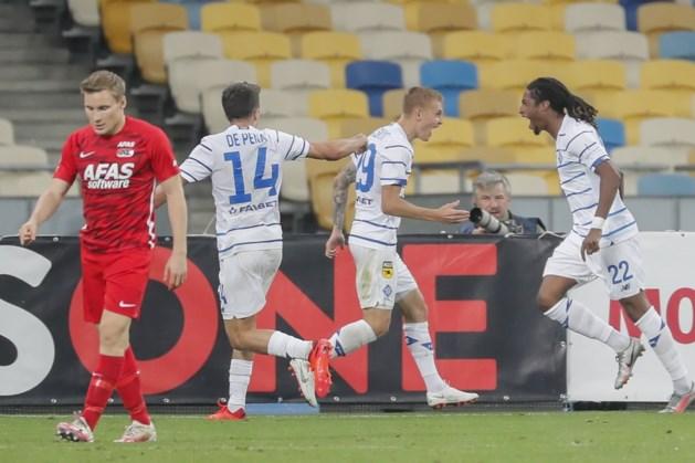 AZ verder in Europa League na nederlaag in Kiev