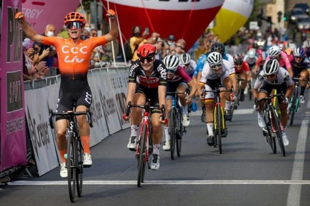 Vos boekt tweede ritzege in Giro Rosa, Van Vleuten blijf in roze
