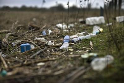 Negentig procent van het afval op rivieroevers is plastic