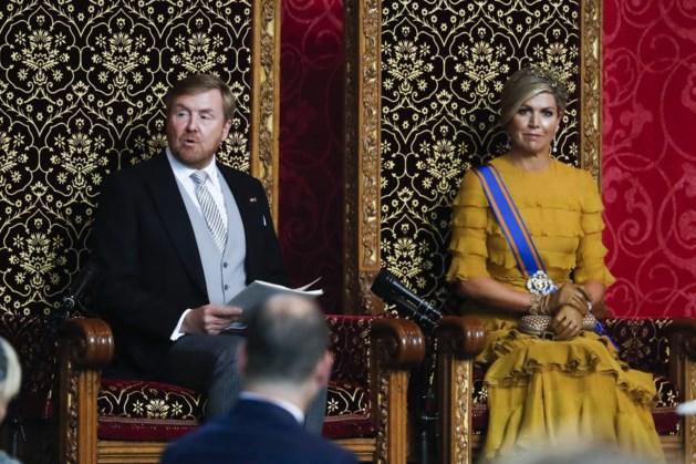 Dit zei Koning Willem-Alexander in zijn troonrede