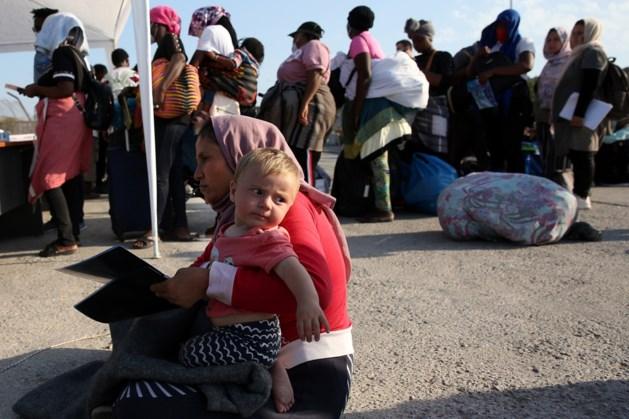 'Duizenden migranten blijven weg bij tijdelijk kamp Lesbos'