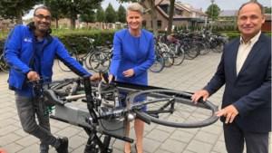 Gemeenten Stein en Beek houden wederom fietsgraveerdag, ditmaal bij gemeentehuis Beek