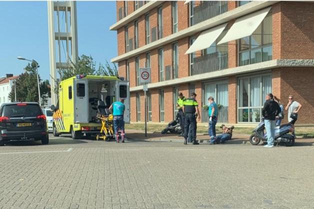 Scooterrijder gewond bij ongeluk in Maastricht