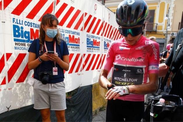 Van Vleuten kan WK vergeten na valpartij in Giro Rosa
