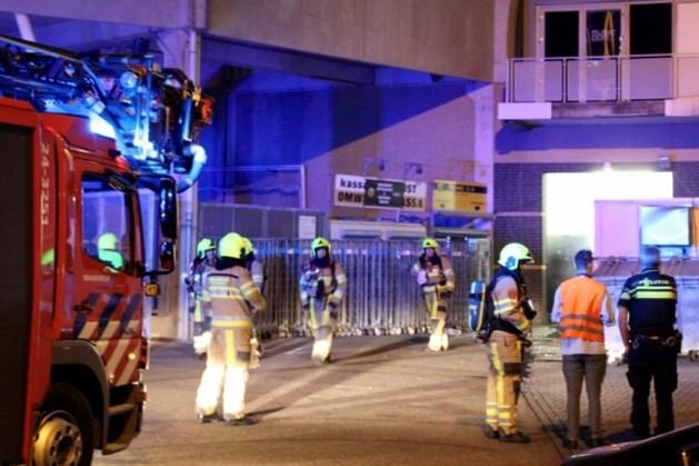 Brand bij vestiging Albert Heijn in Roda-stadion