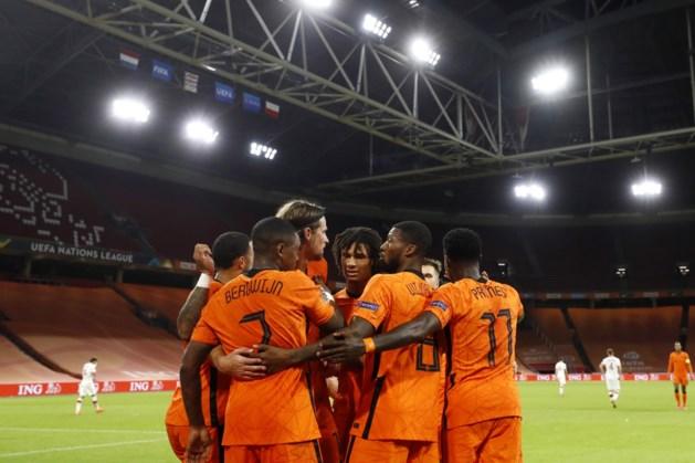 Oranje naar plek 13 op wereldranglijst