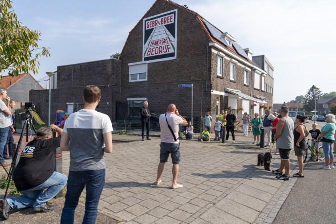 Onthulling van Brunssumse mural rond verzetsfamilie is startschot van groot samenwerkingsproject met Anne Frank Huis en VU