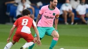 Messi schittert in roze en lichtblauw in tweede oefenduel onder Koeman