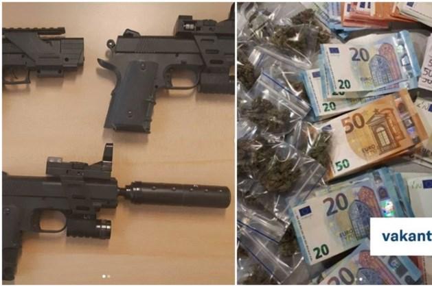 Nepwapens en tienduizenden euro's gevonden bij onderzoek naar wietplantage in Maastricht
