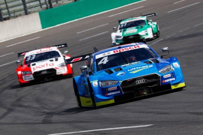 Robin Frijns pakt op Nürburgring derde zege in de DTM