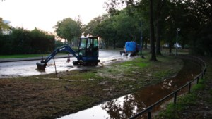 Breuk in waterleiding: straat in Blerick afgesloten