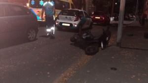 Scooterrijder gewond bij aanrijding in Venlo