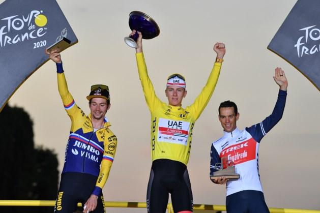 Pogacar sluit Tour af als winnaar, dagzege voor Sam Bennett