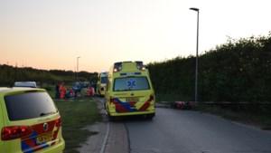 Motorrijder komt hard ten val: traumahelikopter ter plaatse