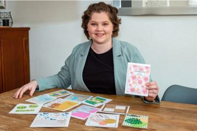 Anique (24) uit Schinveld maakt kaarten om hersentumoren te kunnen bestrijden