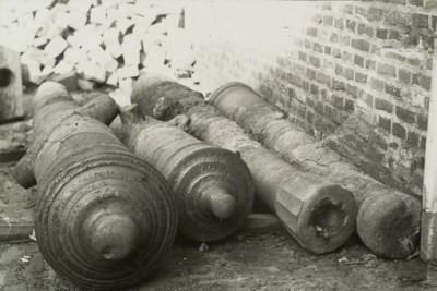 Eeuwenoude kanonnen komen terug in het centrum van Venlo
