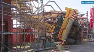 Video: Kind aan dood ontsnapt bij omgevallen bouwkraan