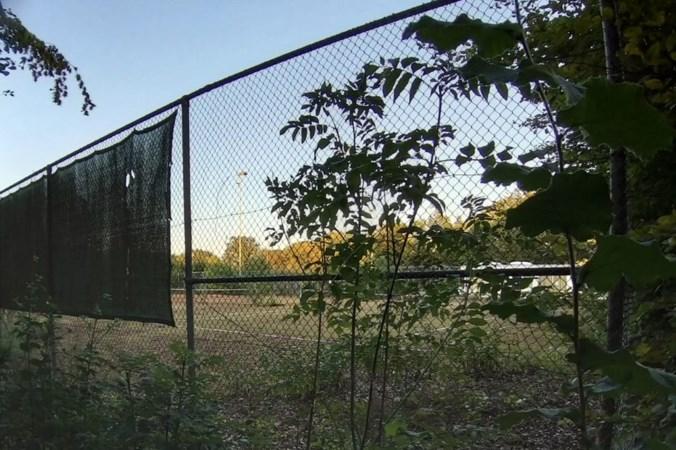 Voormalig tenniscomplex Berg valt ten prooi aan vernielingen en vandalisme