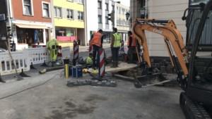 Kapotte gasleiding Kruisstraat in Kerkrade lijkt op een 'grote blokfluit met gaten'