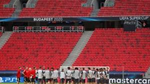 Buikpijn van Super Cup-finale in risicogebied: 'We moeten heel, heel voorzichtig zijn'
