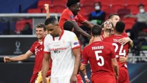 Bayern München wint Super Cup na verlenging ten koste van Sevilla