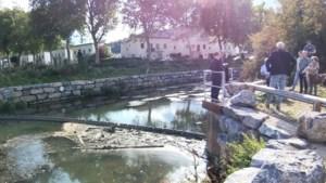 Waterschap plaatst vuilvanger in Geul om stuwen te beschermen