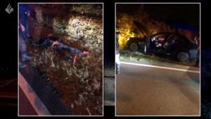Video: Politie rijdt Mercedes klem na achtervolging door Limburg met snelheden tot 260 km per uur