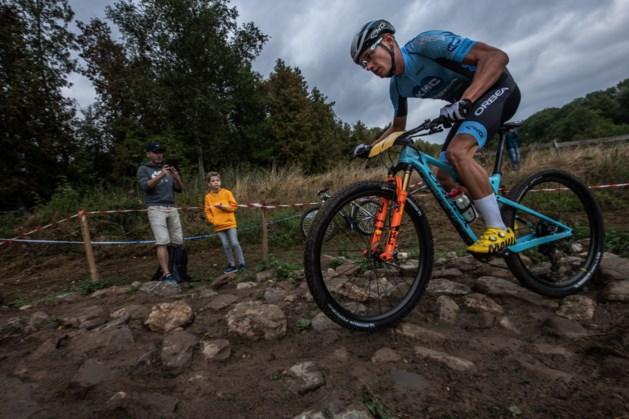 Milan Vader (24) maakt favorietenrol op NK mountainbike waar