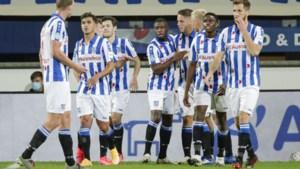 Strafschop en rode kaarten nekken VVV in Heerenveen