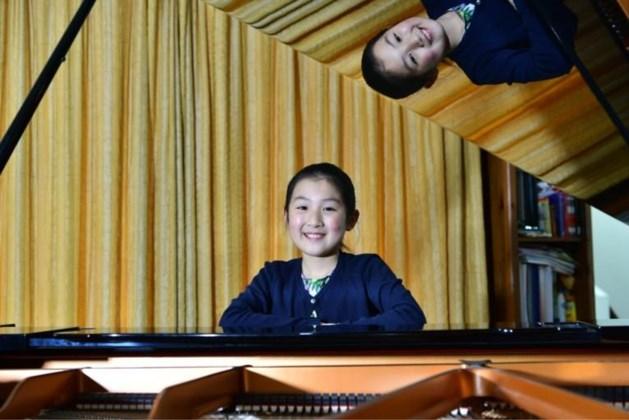 Huayu Gu (11) uit Roermond wint Christina Concours