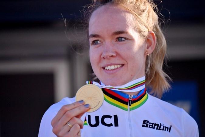 De wereldkampioene wielrennen woont boven op de Cauberg