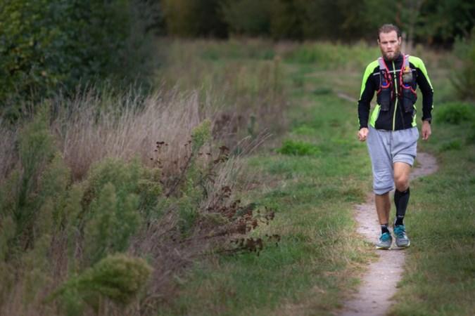 Pieterpadrenner Gerben haalt zijn record: in vier dagen van Pieterburen naar Maastricht