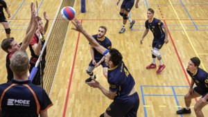 Volleyballers Peelpush maken valse start in de topdivisie