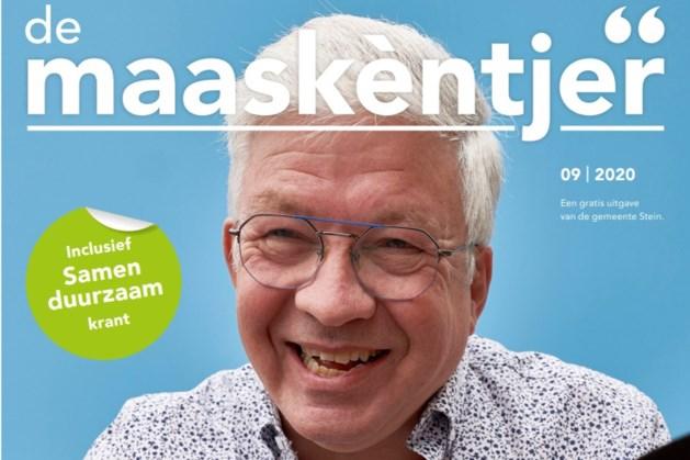 Nieuw gemeenteblad Stein heet 'De Maaskèntjer', eerste nummer gedrukt