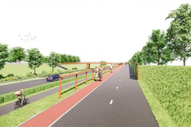 Aanleg fietsoversteek Ringbaan Noord in Weert start donderdag