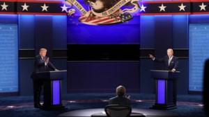 Confrontatie tussen Trump en Biden: 'Het slechtste debat ooit'