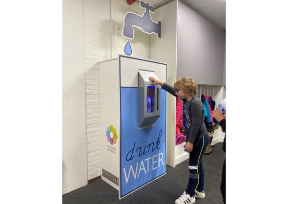 Gekoeld watertappunt op basisschool De Zeveneik in Bingelrade
