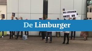 Video: Medewerkers L1 protesteren bij kort geding over benoeming directeur