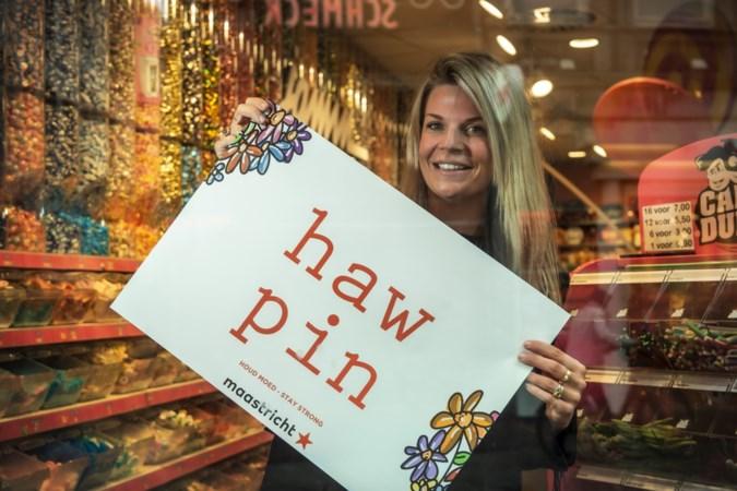 Maastrichtse Sarah Veenhof kijkt terug op succesvolle coronacampagne, maar 'ik ben nu zelf wel een beetje klaar met haw pin'