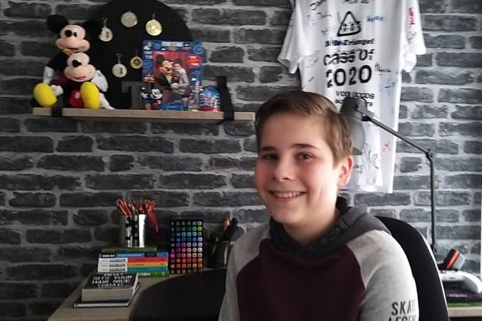 Mantelzorger Tycho Gielen (12) uit Gulpen 'Als ik zie dat mama pijn heeft, ben ik blij dat ik haar kan helpen'